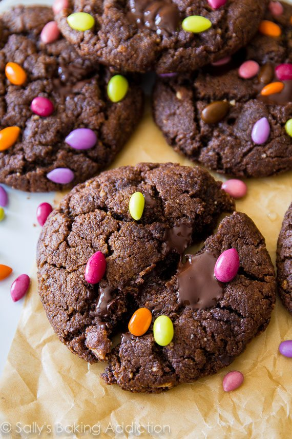 Healthy No Flour Chocolate Cookies Dessert