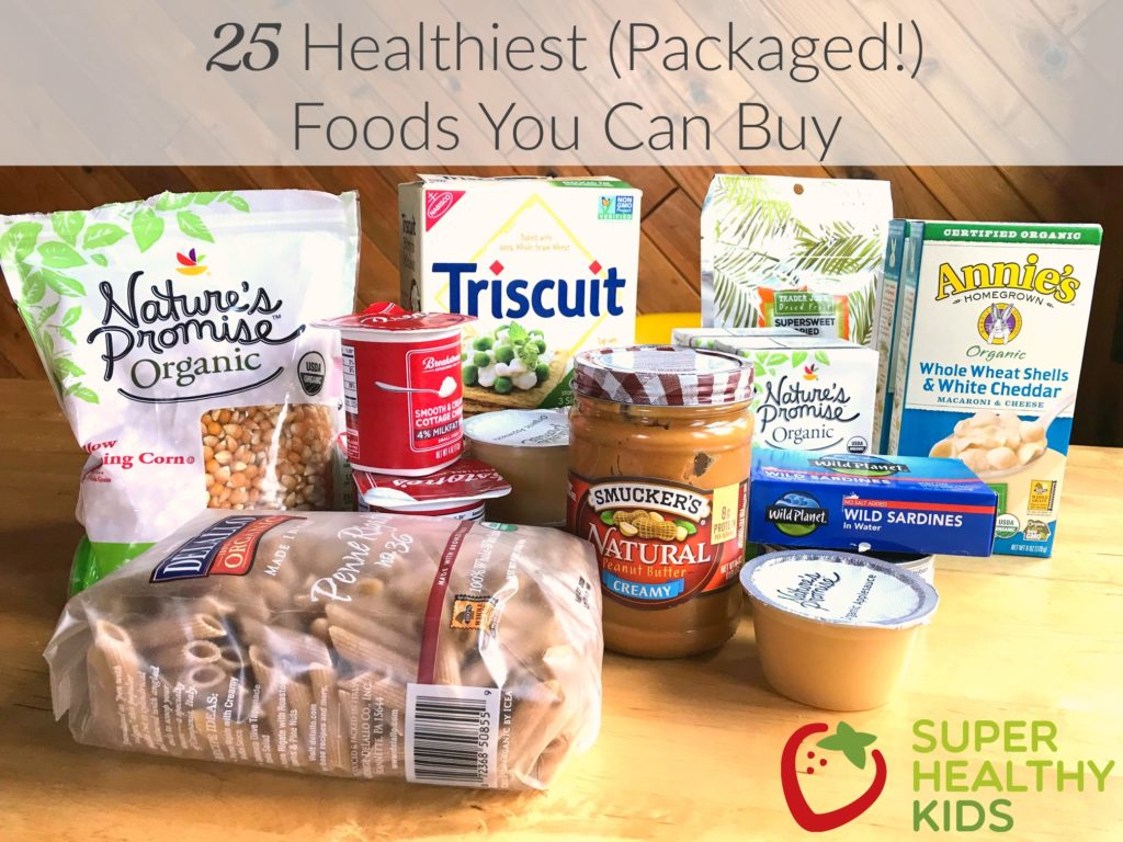 Packaged Food To Make Meals