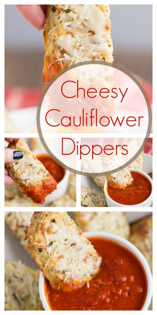 Cheesy Cauliflower Dippers