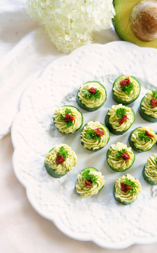 Avocado and Cucumber Cupcakes for St. Patrick's Day Fun Food green