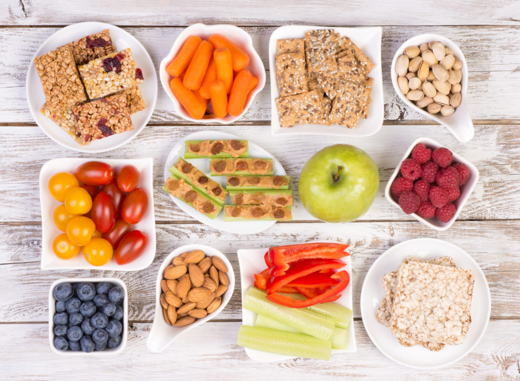 Healthy Snacking for Toddlers - Healthy Snacks fruits and veggies