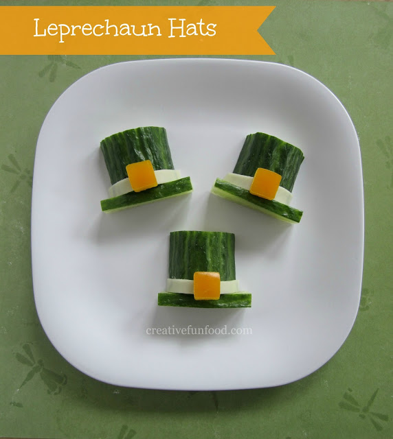 Leprechaun Hats Fun Food for St. Patrick's Day Ideas, 20 Fun and Healthy Food Ideas to Celebrate St. Patrick's Day