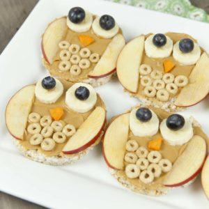 Fun Food For Kids: Owl Rice Cakes