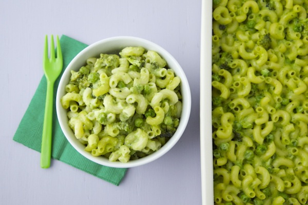 Green Mac and Cheese Fun St. Patrick's Day Food Ideas