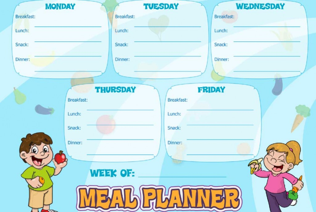 Healthy Meal Plans | Super Healthy Kids