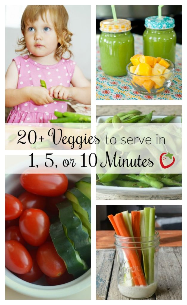 Quick veggies for kids