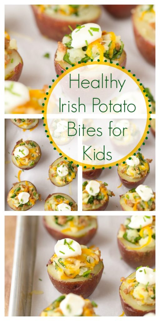 healthy Irish potato bites for kids