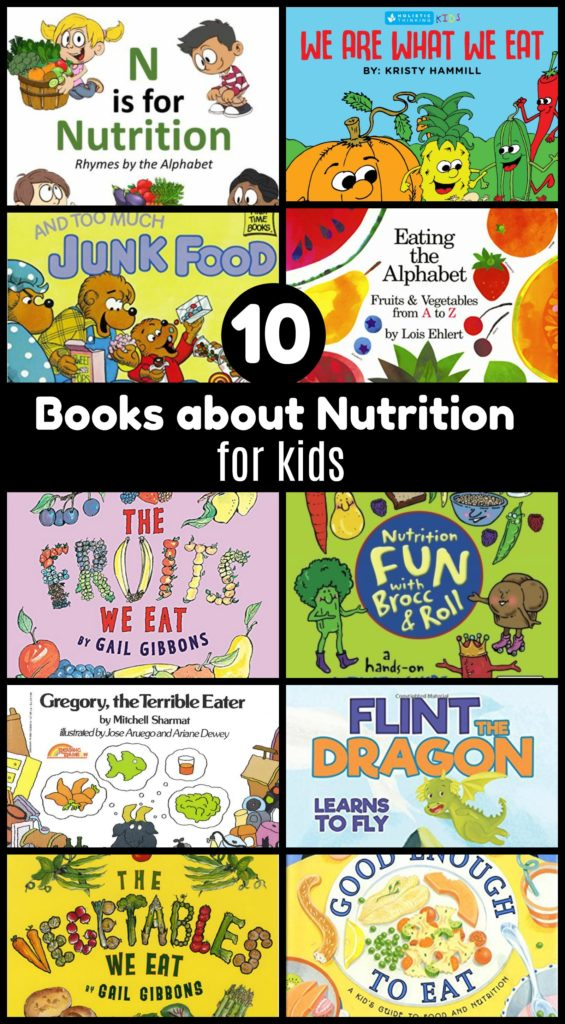 10 books that teach nutrition to kids