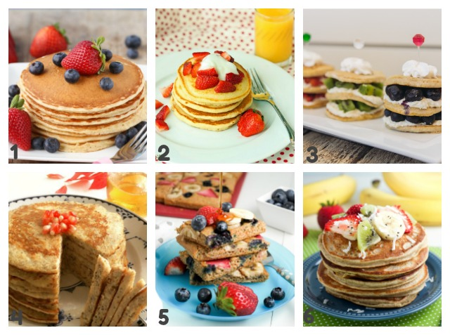 homemade pancake recipes 1-6