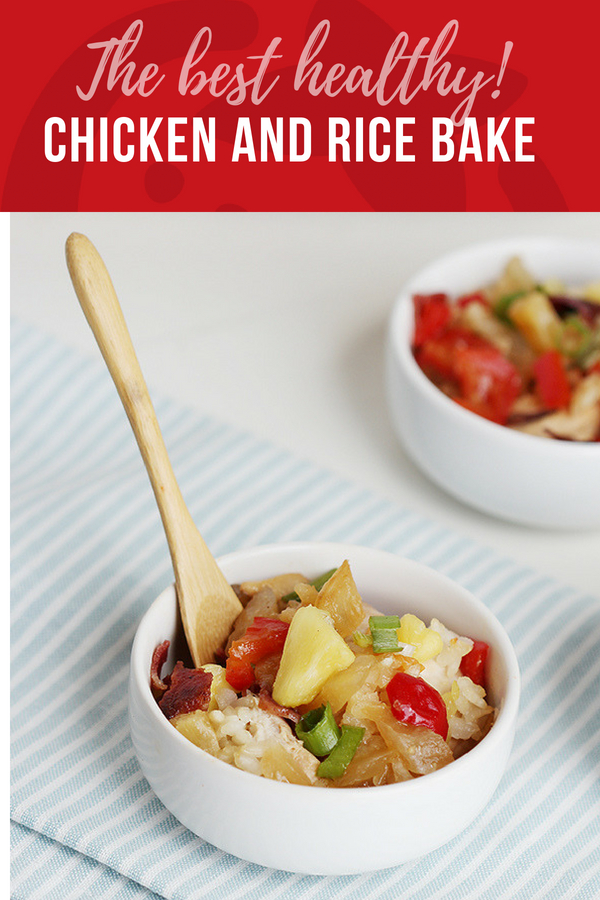 Easy Tropical Chicken and Rice Bake