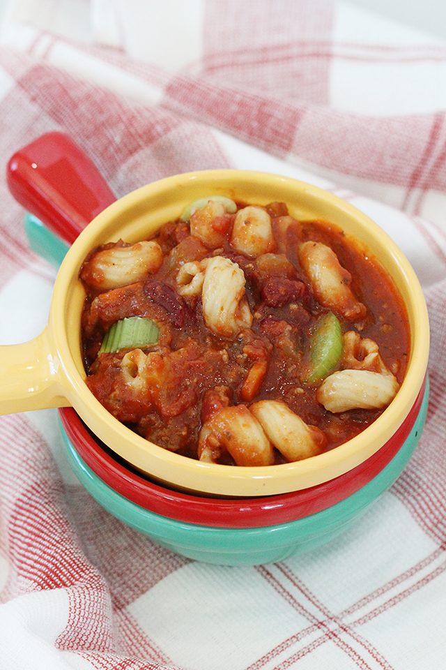 Pasta Fagioli Made in the Instant Pot