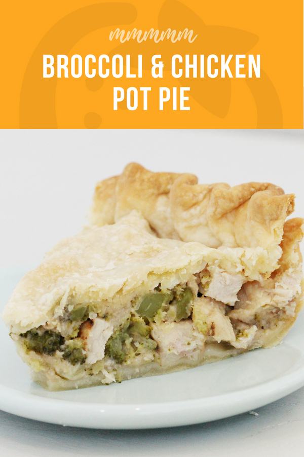 broccoli and chicken pot pie