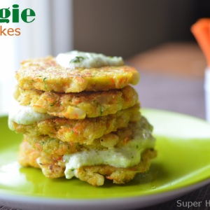 Veggie Pancake Recipe! Breakfast for Busy Kids!