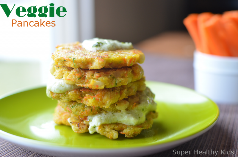 Veggie Pancake Recipe Breakfast For Busy Kids