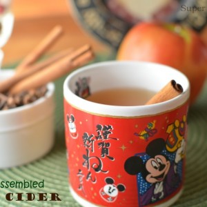 Hot Apple Cider with Kid Assembled Spice Pouch