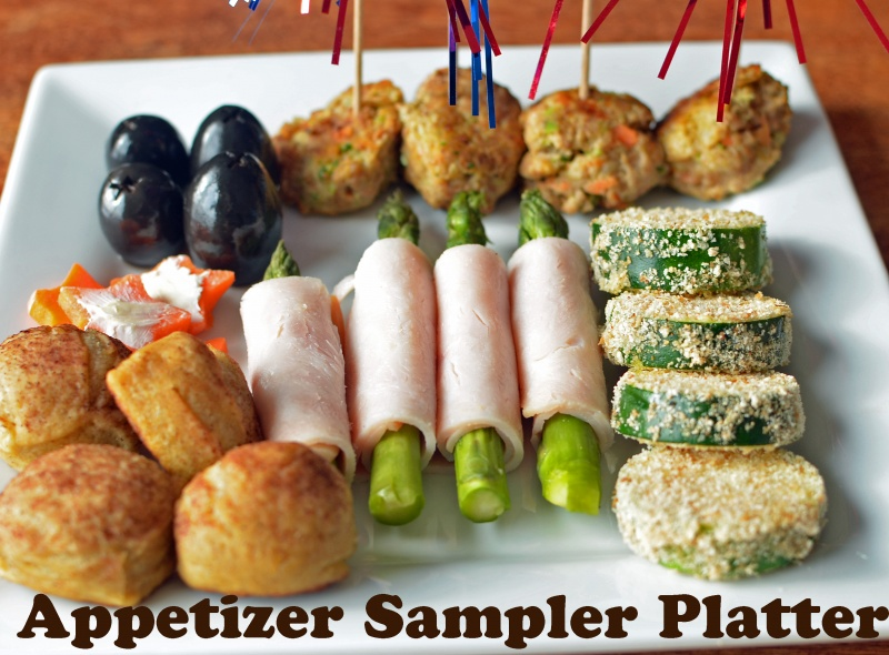 Appetizer Sample Platter With Turkey Power Balls Healthy Ideas