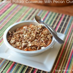 Sweet Potato Casserole With Pecan Crust Recipe