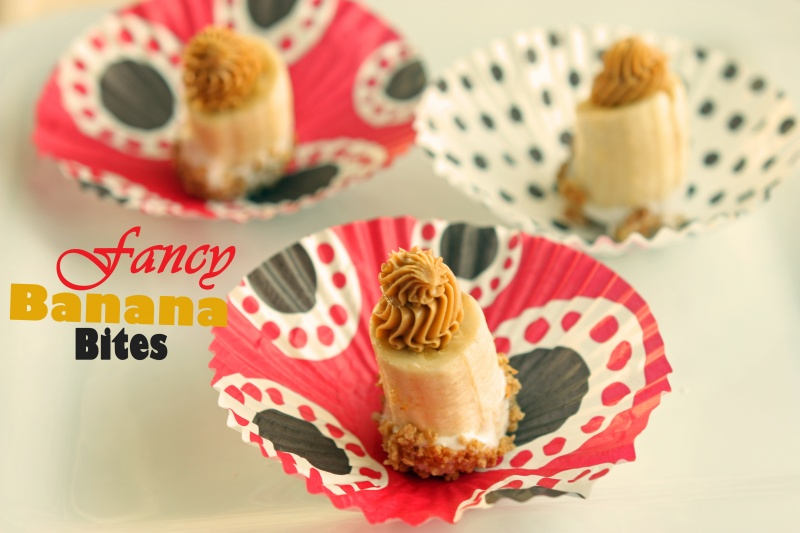 Fancy Banana Bites Healthy Ideas For Kids