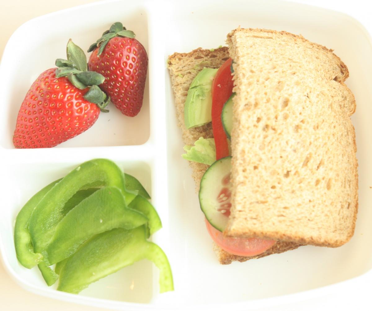 Veggie Sandwich with Cheese   Super Healthy Kids
