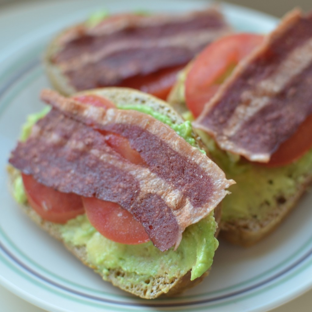 Avocado, Bacon and Tomato Toast | Super Healthy Kids