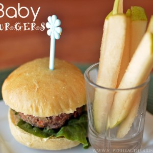 Baby Burgers: Toddler Friendly Finger Food
