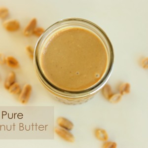 Homemade Nut Butter: Pure Peanuts