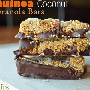 Quinoa Coconut Granola Bar Recipe
