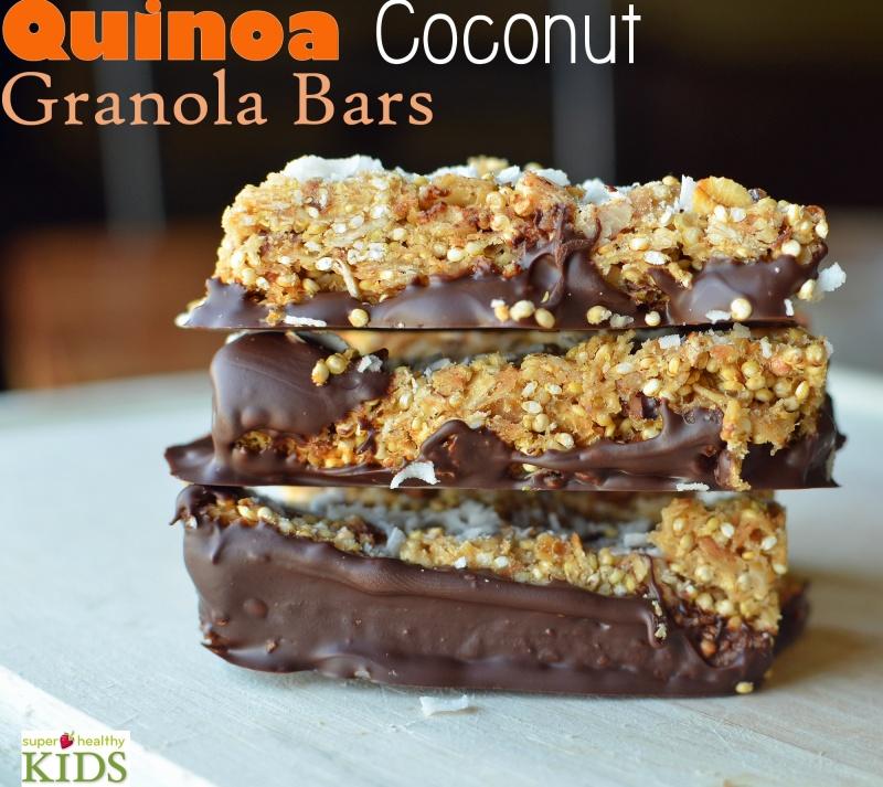 Quinoa Coconut Granola Bar Recipe Healthy Ideas For Kids