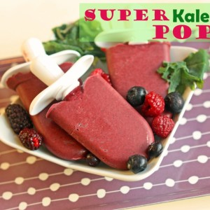 Super Kale Pops Recipe