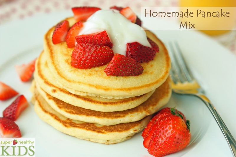 Homemade pancake mix super healthy kids homemade pancake mix ccuart Choice Image