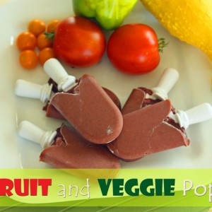 Fruit and Veggie Pops