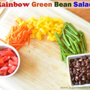 Rainbow Green Bean Salad