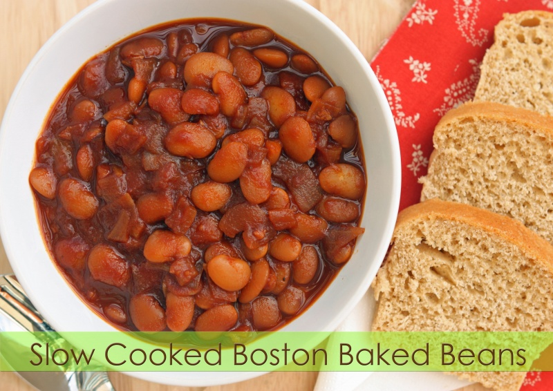 Slow Cooked Boston Baked Beans Recipe | Healthy Ideas For Kids