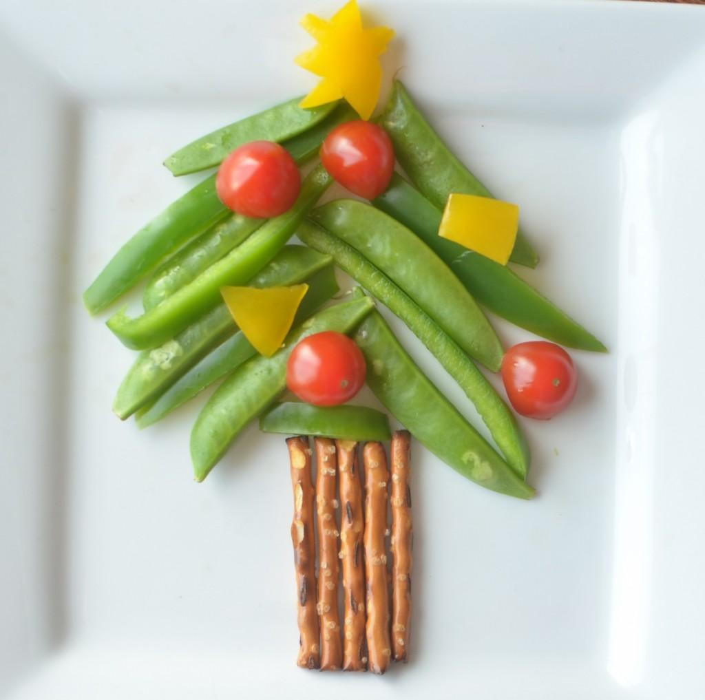 Veggie Christmas Tree Recipe: Christmas Veggie Tree