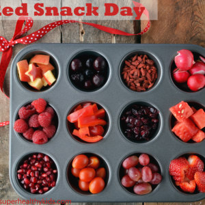 Healthy Red Snack Day – Kids Buffet