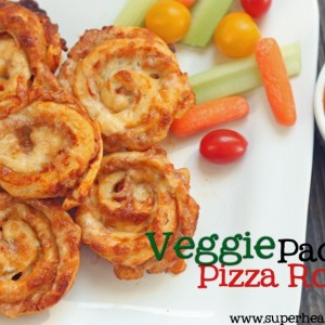 Veggie Packed Pizza Roll Recipe