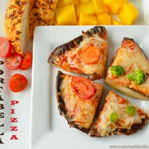Portabella Pizzas For Kids