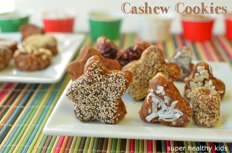 No Bake Cashew Cookies Recipe