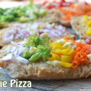10 Minute Veggie Pizza Recipe