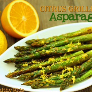 Citrus Grilled Asparagus Recipe