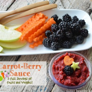 Carrot-Berry Lunchbox Applesauce Recipe