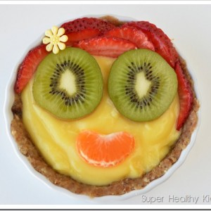 Fruit Tart with Walnut Date Crust
