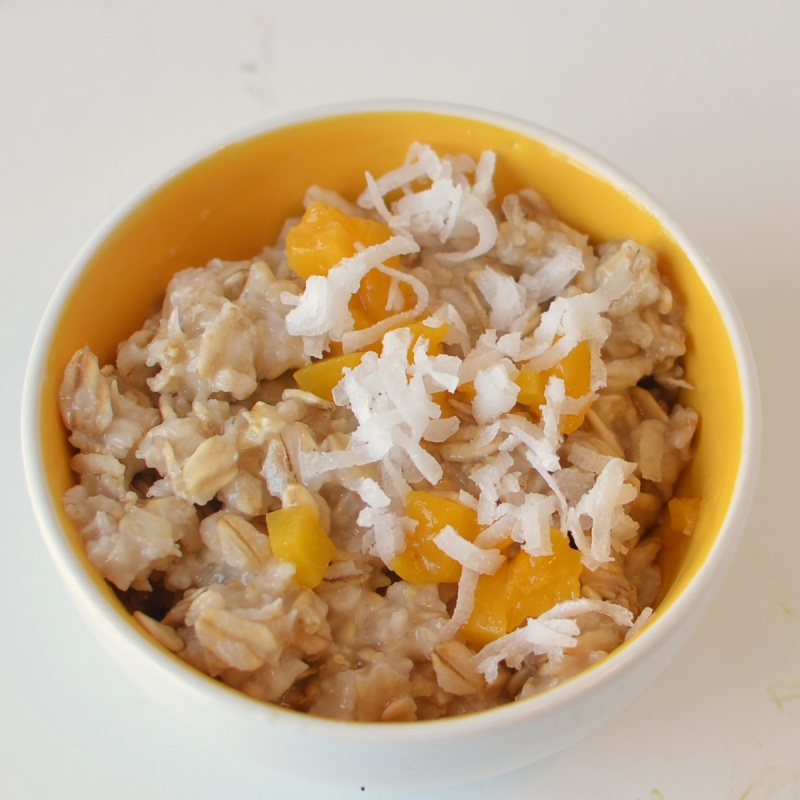 how to cook oatmeal with milk for breakfast