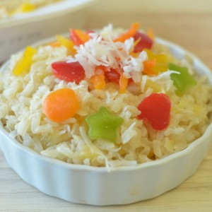 Sweet Carribean Rice and New Meal Plan