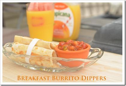 burrito breakfast dippers orange juice balanced burritos fat low healthy