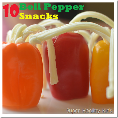 Bell Pepper Snacks 10 Different Kinds Healthy Ideas For Kids